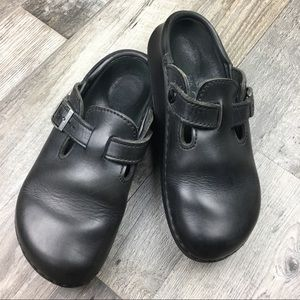 Birkenstock Tatami Black Leather Size 7